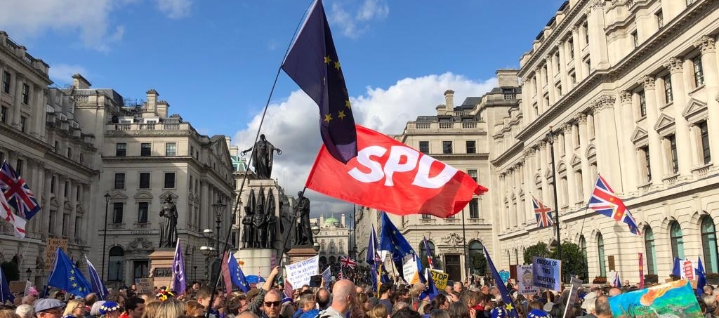 SPD London at the March for a People's Vote